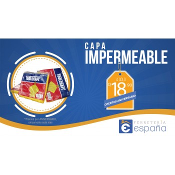 CAPA IMPERMEABLE